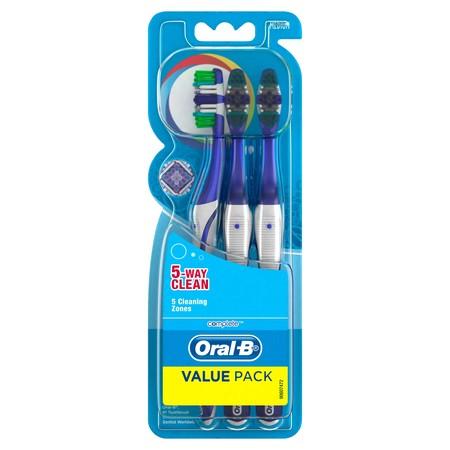 Sikat gigi dengan bulu sikat yang lembut dan dapat membersihkan sela-sela gigi dengan baik. Mempunyai gagang sikat yang panjang & kuat, juga dilengkapi dengan 5 way to clean.