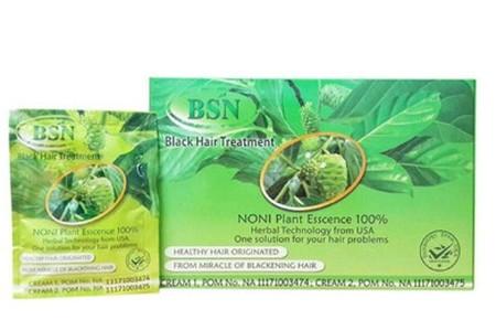 BSN NONI adalah shampo kesehatan rambut sekaligus bermanfaat untuk menghitamkan rambut secara alami, terbuat dari 100% tumbuh2an yaitu buah mengkudu, jamur ling zhe, ginseng, dan beberapa herbal lainnya. Diproses secara modern berteknologi Amerika dan dij