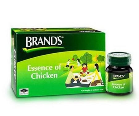 Brands Essence Chicken adalah salah satu suplemen makanan yang terbuat dari bahan alami yang diekstrak dari daging ayam berkualitas. Brands Saripati Ayam mengandung asam amino dan peptide yang mudah dicerna, serta bahannya terbebas dari lemak dan bebas ko