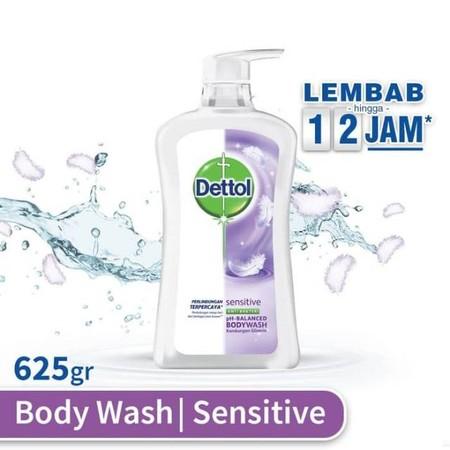 Dettol Body Wash Sensitive Merupakan Sabun Cair Untuk Perlindungan Kulit Terhadap Kuman. Formulanya Menawarkan Perlindungan 100% Lebih Baik Dari Kuman. Sabun Cair Ini Mengandung  Formula Ph-Balanced Dengan Perlindungan Terpercaya Dettol Serta Keharuman Ke