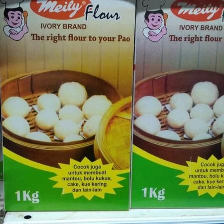 Tepung praktis sebagai bahan dasar membuat Bakpao, Bolu Kukus, Cake kue kering, Mantao. Cukup dengan penambahan sedikit bahan untuk membuat adonan yang siap digunakan.