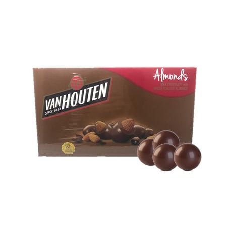 Van Houten Almond 130gr merupakan coklat premium yang lezat. Sangat praktis untuk dikonsumsi dan memiliki nilai gizi yang tinggi.