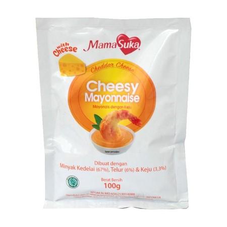 Mamasuka Cheesy Mayo Merupakan Perpaduan Mayonaise Berkualitas Dengan Keju Cheddar Asli. Menghasilkan Rasa Gurih Yang Nikmat Dan Sangat Cocok Bagi Para Pencinta Keju. Mayonaise Satu Ini Pas Sekali Untuk Dinikmati Saat Berkumpul Bersama Atau Saat Santai.