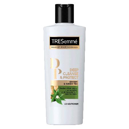 Tresemm Deep Cleanse & Protect Secara Efektif Membersihkan Rambut Secara Menyeluruh Dengan Bahan Natural Yaitu Green Tea Dan Hawaiian Ginger Root. Green Tea Memiliki Antioksidan Yang Tinggi, Efektif Melindungi Rambut Dari Polusi Asap Dan Debu Dengan Dan