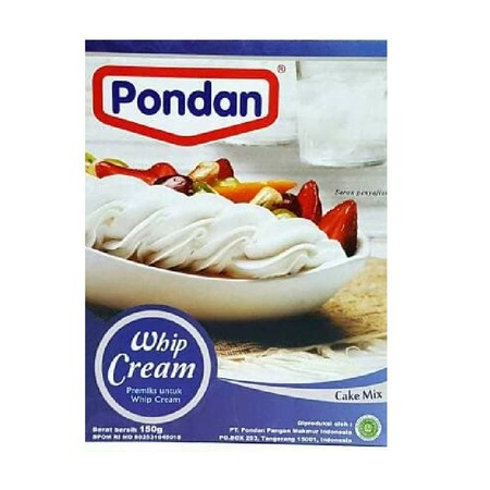 Bahan Premiks Untuk Membuat Whip Cream
