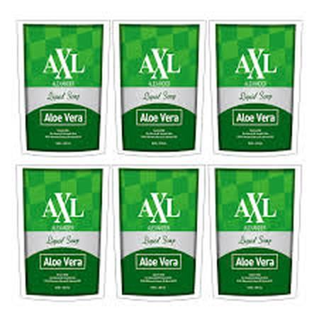 Axl Alexander Aloevera Liquid Soap Merupakan Sabun Mandi Yang Mengandung Fragrance, Water, Goat'S Milk, Aloevera Extract & Almond Extract. Sabun Mandi Ini Dapat Memberikan Kesegaran Pada Kulit Tubuh Anda.