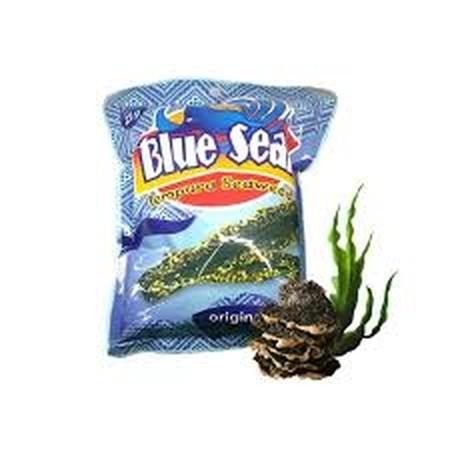 Blue Seal Tempura Seaweed Original Adalah Keripik Rumput Laut Rasa Original.
