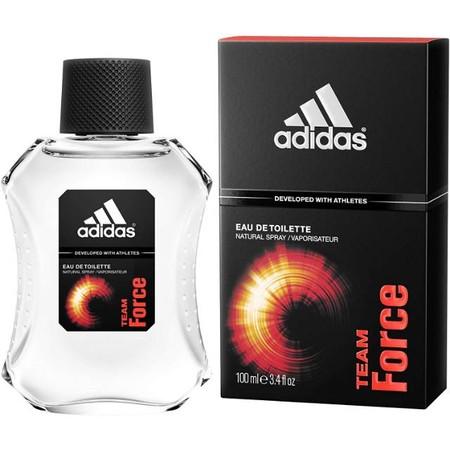 adidas Original Team Force EDT Parfum Pria [100 mL] merupakan parfum dengan kesegaran fresh yang terdiri dari paduan mint, cooling, dan fresh.