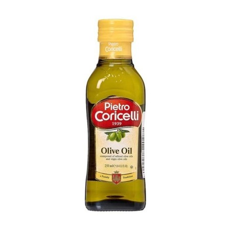 PURE OLIVE OIL The most delicate of the olive oils, but still with a noteworthy taste. IDEAL Suggested for cooking and frying and for the lightest dishes, such as grilled white-flashed fish.