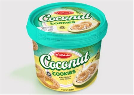 Kukis rasa Coconut dan Mentega yang di kemas jadi satu dengan rasa yang enak khas Biskuit Kokola. Dibuat dengan bahan pilihan berkualitas yang aman dikonsumsi. Ideal dinikmati bersama keluarga pada saat santai