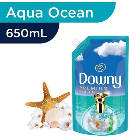 Downy Pelembut Pakaian Refill Aqua Ocean 650Ml Merupakan Pelembut Pakaian Yang Menjaga Pakaian Berbau Harum Sepanjang Hari Dengan Aroma Alami Aqua Ocean Yang Menyegarkan. Parfum Mikro Kapsulnya Yang Unik Tetap Berada Di Kain Bahkan Setelah Pengeringan Dan