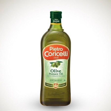 Pietro Coricelli Pomace Olive Oil 1L adalah minyak pomace yang cocok untuk digunakan untuk memasak makanan sehat. Terbuat dari pomace zaitun pilihan yang berkualitas dengan proses pembuatan yang modern dan higienis