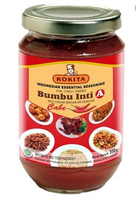 Kokita Is Committed To Providing The Specialized Ingredients And Essential Sauces Required To Enjoy The Authentic Flavors Of The Finest Indonesian Cuisine.  Kokita Essential Seasoning B (Bumbu Inti B Kokita) For Turmeric Dishes Is An Essential Seasoning T