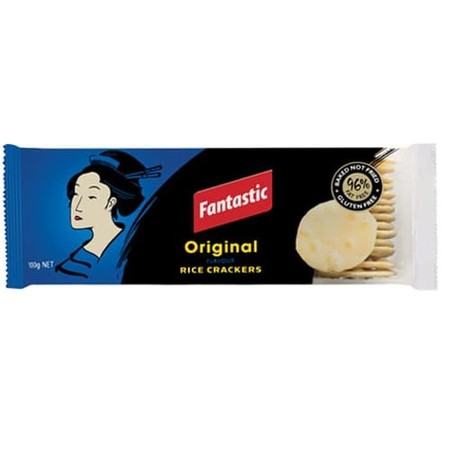 Fantastic Crackers Are An Irresistible Snack Which Can Be Enjoyed Anytime, Anywhere. Delicious On Their Own, Or With A Tasty Dip Or Topping, You Know You Can Rely On Fantastic To Satisfy Any Snacking Moment.  Original Flavoured Rice Crackers Are Vegetaria
