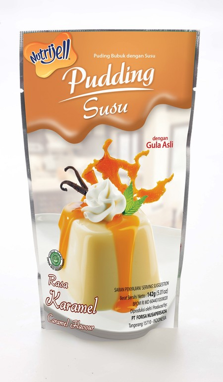 Pudding adalah puding instan yang dikemas dalam bentuk bubuk. Mudah dimasak, dengan mendidih 500 ml air dan puding siap untuk dicetak dan didinginkan. Puding bisa diolah menjadi berbagai macam unik, gurih dan lezat.