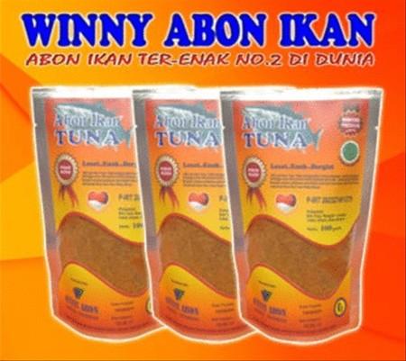 Produk Abon Ikan Tuna Winny Abon Ikan Ter-ENAK No.2 di DUNIA berbeda dengan produk abon ikan di pasaran. Produk Winny Abon sangat digemari dan disukai semua kalangan karena Abon ikan yang dinikmati bukan Abon ikan rasa ikan tuna, melainkan abon ikan tuna