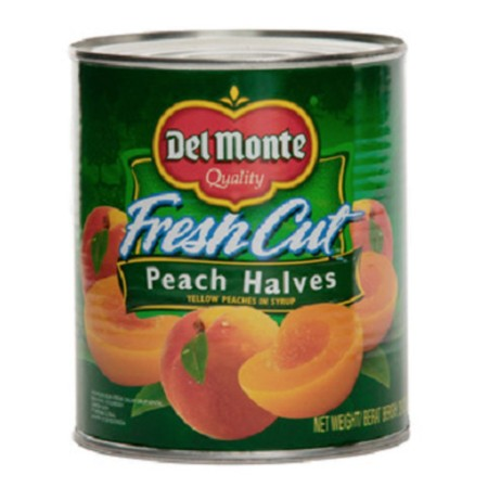 Peach Halves, Harvested At The Peak Of Ripeness And Packed Fresh In Heavy Syrup. No Preservatives And Fat-Free.