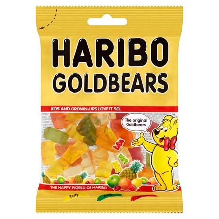 Haribo Gold Baren Jelly 80Gr Pack Haribo Gold Baren Jelly 80Gr PackMerupakan Permen Jelly Dengan Rasa Lezat Dan Nikmat Yang Dibuat Dengan Bahan-Bahan Yang Berkualitas Sehingga Menghasilkan Tekstur Yang Kenyal, Diproses Secara Higienis. Cocok Dinikmati