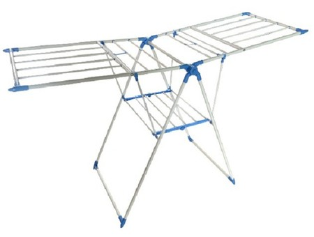 Foldable clothes dryer. Made of iron and PP. Easy to use and saves space. Size 170 * 61 * 99cm