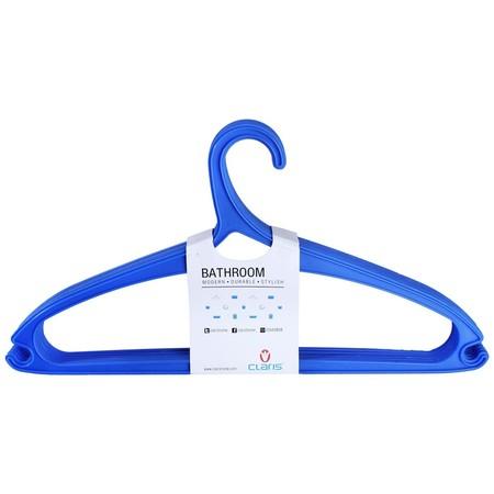 Hanger Claris Berbahan Plastik PP dengan kapasitas satu set 6 Pieces