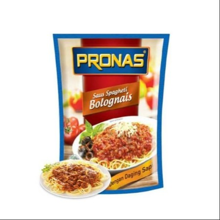 Pronas Bolognese Sauce With Quality Beef In It, Practical And Delicious. Provide Convenience For Consumers Italian Food Fans. Taste Delicious With A Choice Of Two Sizes Are 175G And 350G Choice For Families. Only Pronas Bolognese Sauce Contents Beef Chunk