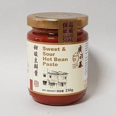 KCT Hot Bean Paste 230gr merupakan pasta kacang pedas yang terbuat dari bahan pilihan serta dikemas secara praktis, sehingga ideal untuk melengkapi berbagai hidangan spesial keluarga