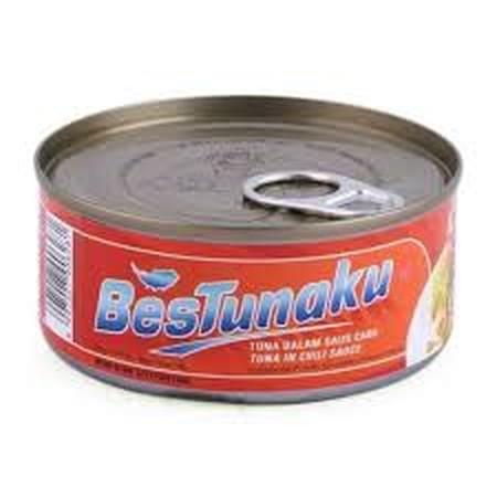 Tuna Chunks in Chili Sauce. Bestunaku Bumbu Masak Untuk Segala Jenis Makanan. Cocok untuk disantap setiap saat. bisa langsung disantap atau dicampurkan dengan masakan lain.