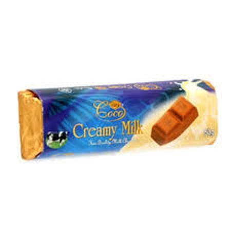 COCO Chocolate Bar Milk Bar [50 g] adalah milk chocolate yang dibuat dengan susu segar dari Kepulauan Inggris dan Irlandia. Cokelat Susu ini cocok dinikmati setiap saat.