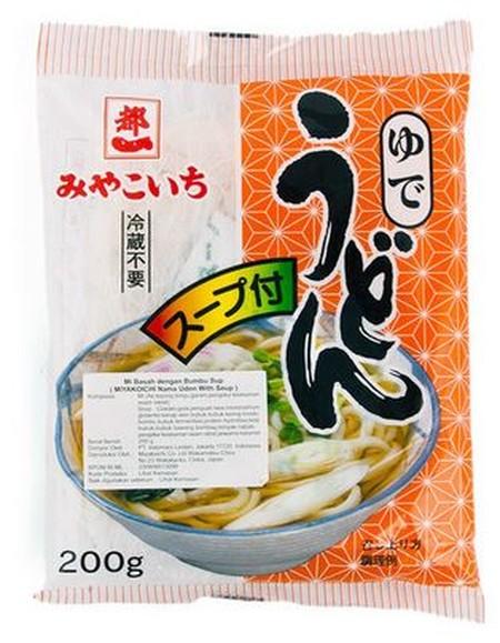 Miyakoichi Nama Udon With Soup-mie basah bumbu sup