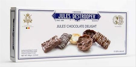 Brand biskuit No.1 Belgia dan termasuk dalam salah satu daftar belanja kerajaan Belgia Biskuit mentega Rasa Cokelat.