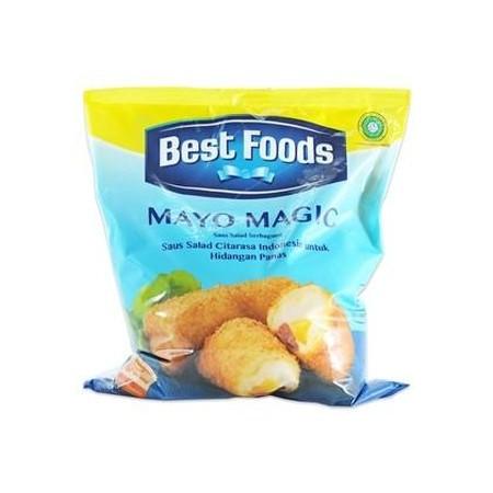 Best Foods Mayo Magic Dibuat Untuk Memberikan Hasil Yang Konsisten Pada Aplikasi Masakan Yang Menggunakan Temperatur Tinggi Seperti: Tumis (Udang Goreng Mayones), Isian, Panggang, Dan Dekorasi . Bahkan Ketika Dipanaskan Sampai Suhu 200, Akan Tetap Stabil