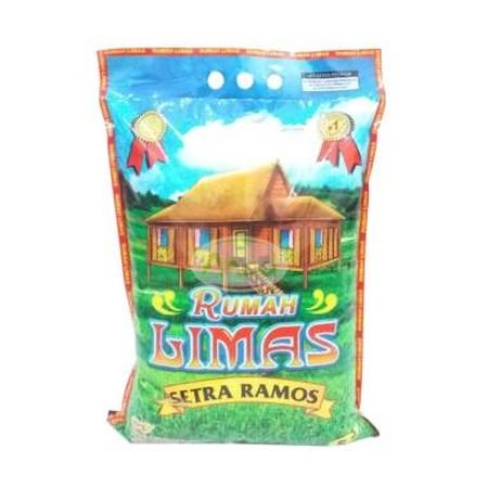 Rumah Limas Setra Ramos Beras [5 Kg] Merupakan Beras Dengan Kualitas Tinggi, Aman Untuk Dikonsumsi Sehari-Hari. Dipanen Dari Padi Pilihan Dan Diproses Secara Higienis Untuk Menghasilkan Beras Berkualitas Yang Bersih, Murni, Dan Tahan Lama.
