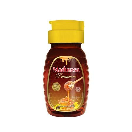 Madurasa Premium Merupakan Madu Murni Yang Sudah Ditambahakan Bee Polen Dan Royal Jelly. Royal Jelly Merupakan Cairan Yang Dihasilkan Lebah. Cairan Tersebut Memiliki Nutrisi Yang Lebih Banyak Dibanding Madu. Sedangkan Bee Pollen Merupakan Serbuk Sari Bung