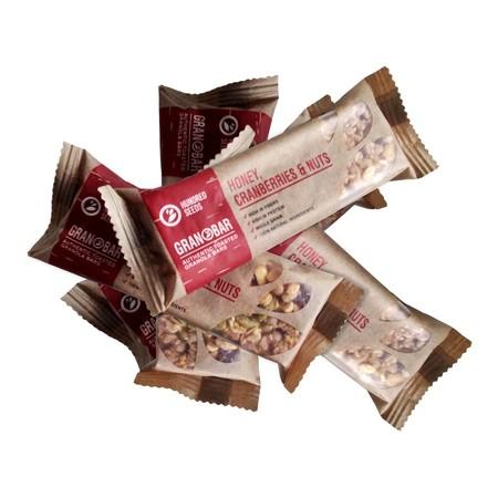 Hundred Seeds Granobar Honey, Cranberries & Nuts [29 G] Merupakan Snack Yang Terbuat Dari Bahan-Bahan Pilihan Berkualitas Yang Diproses Secara Higienis Untuk Menghasilkan Makanan Bermutu Dengan Rasa Yang Istimewa. Dengan Filling Yang Lezat, Membuat Makana