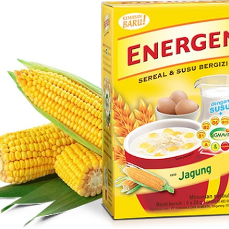 Energen Sereal Dan Susu Rasa Jagung Isi 5 X 25 Gram Renceng Merupakan Minuman Sereal Yang Memiliki Kandungan Susu Bergizi, Mengandung Berbagai Macam Vitamin B, A, D, E, Dan Kalsium Serta Asam Folat Yang Sangat Bagus Untuk Tubuh Anda. Minuman Sereal Ini Sa