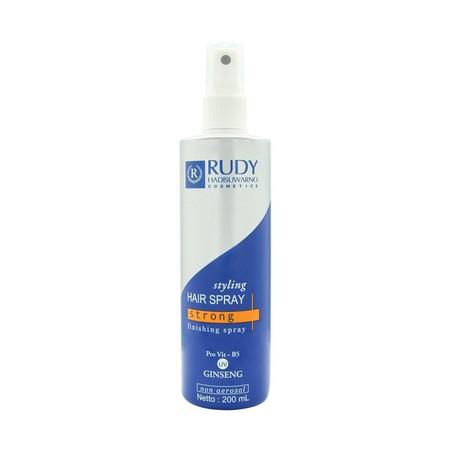 Hair Spray untuk sentuhan akhir yang diformulasikan untuk menghasilkan daya set tinggi, cepat kering, dan tidak lengket. Spray Non Aerosol memungkinkan untuk konsentrasi pada satu bagian tata rambut, tanpa mengenai bagian lain.  Mengandung ekstrak Ginseng