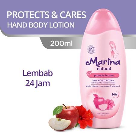 Hand & Body Lotion Dengan Kandungan Natural Complex Dari Chamomile Dan Vitamin E, Serta Dilengkapi Dengan 24H Moisturizing Yang Menjaga Kelembapan Alami Kulit Hingga Lapisan Terdalam Selama 24 Jam*. *Dengan Pemakaian Teratur