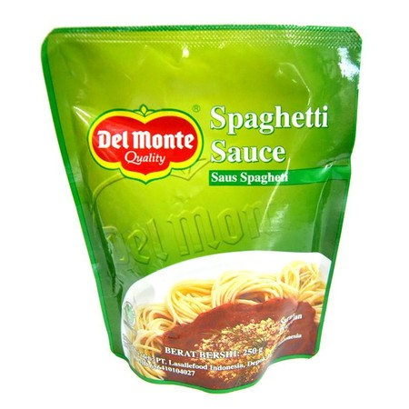 Del Monte Spaghetti Sauce Is Prepared From Quality Tomatoes And Selected Herbs And Spices Deliciously Blend To The Right Sweet And Spicy Taste To Meet The Local Taste. Del Monte Spaghetti Sauce Helps You Create Quick, Delicious Dishes For You And Your Fam