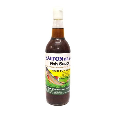SAITON BRAND Fish Sauce Kecap [750 mL] merupakan kecap ikan yang terbuat dari bahan berkualitas, sangat cocok dimasak dengan berbagai macam daging ayam, sapi, dan ikan, sehingga dapat membuat masakan makin enak dan bercitra rasa. Komposisi : Ikan teri, ga