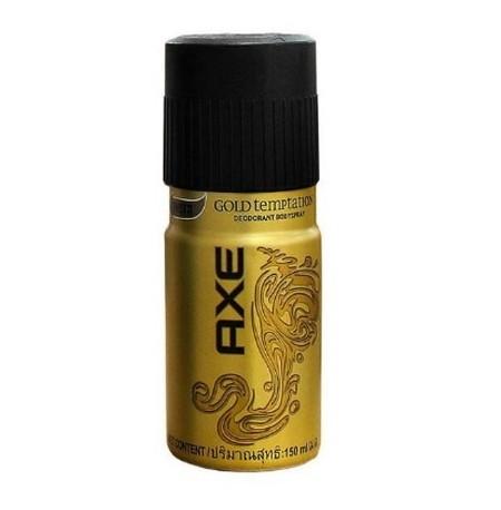 Perpaduan Wangi Yang Unik Antara Segarnya Citrus Dan Manisnya Gold Amber Membuat Axe Gold Temptation Memiliki Aroma Kemewahan.