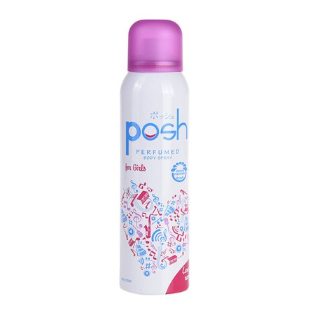 Posh Body Spray Love Song 150Ml Merupakan Body Spray Dengan Memiliki Perlindungan Anti Bacterial Untuk Membunuh Kuman Penyebab Bau Badan