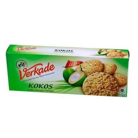 Verkade Kokos Cookies Merupakan Bikuit Dengan Rasa Yang Nikmat