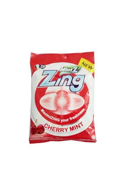 Permen Zing Cherry 100Gr Merupakan Permen Dengan Rasa Spearmint Yang Menyegarkan. Terbuat Dari Bahan Bahan Berkualitas Dipadukan Dengan Proses Pembuatan Yang Canggih Sehingga Menghasilkan Permen Yang Ideal Dinikmati Saat Merasa Bosan Dalam Perjalanan.
