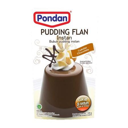 Bahan Premiks Untuk Membuat Pudding Flan Coklat 100Gr
