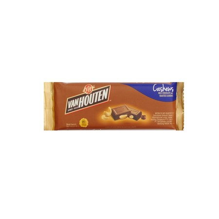 Van Houten Chuncky Cashew 65gr merupakan coklat premium yang lezat. Sangat praktis untuk dikonsumsi dan memiliki nilai gizi yang tinggi.