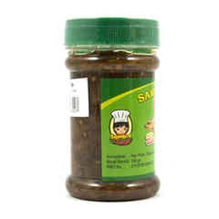 Sambal Ikan Peda Bu Sandra 150gr. Dibuat dari bahan-bahan segar yang dibeli langsung dari Pasar Tradisional dan diolah dengan higienis lalu dikemas dengan mesin-mesin canggih yang membuat kemasan tidak bocor saat pengiriman sampai ke konsumen.