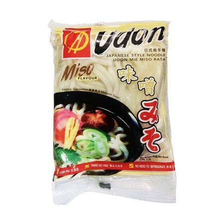 Orient Udon Miso Flavour 210 Gr Japanese Style Noodle Jssa Udon Dengan Rasa Miso Dari Orient Adalah Mie Gaya Jepang Yang Nikmat, Memiliki Beragam Variasi Penggunaan, Bisa Disajikan Sebagai Mie Panas Maupun Mie Dingin. Mie Low Fat Tanpa Pengawet. Kecanggih