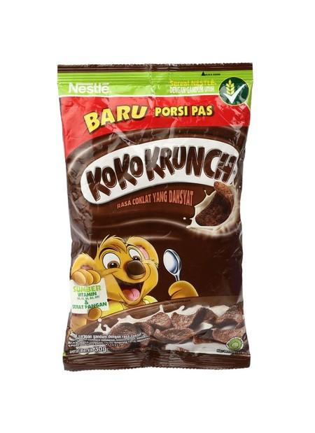 Koko Krunch Cereal 30 Gr Pack Merupakan Sereal Untuk Sarapan Sehat Dengan Tekstur Yang Renyah Yang Dibuat Dari Bahan Alami. Sereal Ini Mengandung Vitamin, Mineral, Kalsium, Dan Zat Besi Sehingga Dapat Memberikan Nutrisi Lebih Saat Beraktivitas.