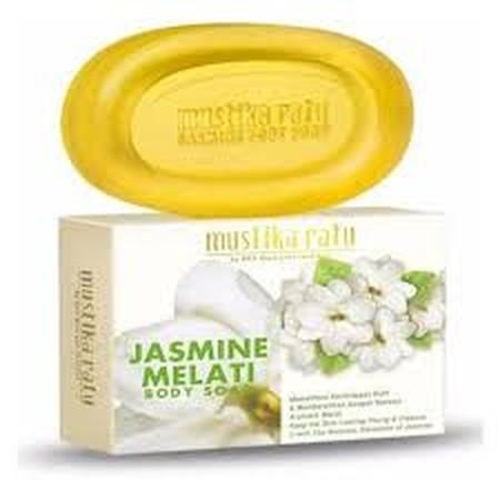 Mustika Ratu Body Soap merupakan sabun batang diperkaya ekstrak jasmine yang kaya akan vitamin.