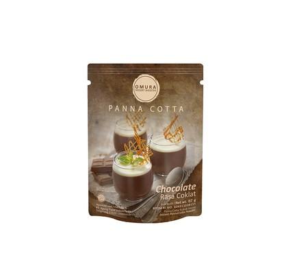 Panna cotta dibuat dari cream atau susu, lalu dicampurkan dengan gelatin dan jely untuk memperoleh tekstur yang kenyal dan lembut. Varian rasa coklat.